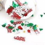 Kalėdinė dekoracija - konfeti