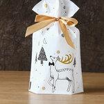 """Sausainių saldainių dovanų pakavimo maišeliai """"Elk"""""""