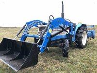 Japoniški mini traktoriai