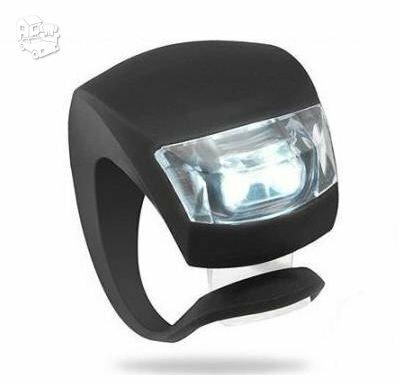 2 LED 3 Funkcijų Led dviračio žibintas