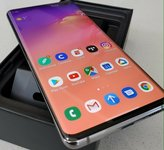 GALAXY S10-AMOLED-512GB+DEKLAS DOVANU