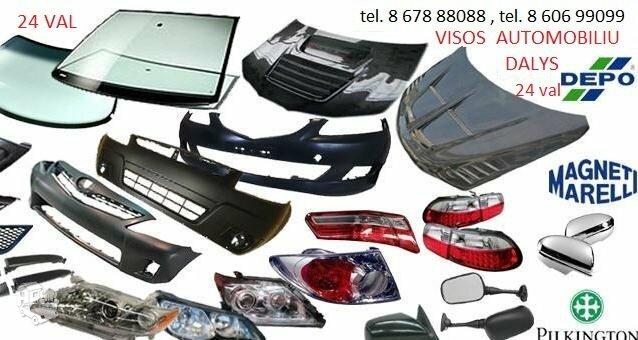 Renault Laguna žibintai / kėbulo dalys