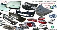 Mercedes-Benz ML žibintai / kėbulo dalys