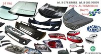 Lexus LS klases žibintai / kėbulo dalys