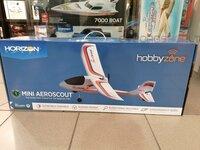 Lėktuvas Hobbyzone Mini AeroScout 0.77m RTF