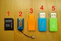 Naujas micro SD adapteris