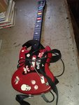 Playstation-2 priedas gitara
