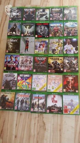 Xbox One originalūs žaidimai