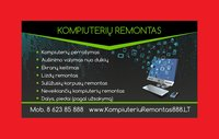 Kompiuterių Remontas Vilniuje, Žirmūnų g. 48A [Servisas]