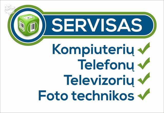 Patikimas kompiuterų servisas Klaipėdoje