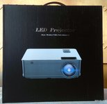 LED Projektorius namų kinui