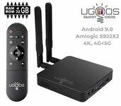 Išmanus Android TV priedėlis Ugoos AM6 Plus