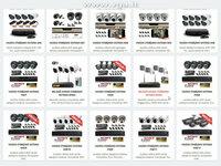 Apsaugos kamerų komplektai