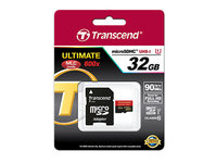 Transcend micro SD 32gb 90mb/s