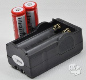 Dvigubas universalus akumuliatorių baterijų pakrovėjas