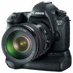 Neoriginalus baterijų laikiklis Canon 6d